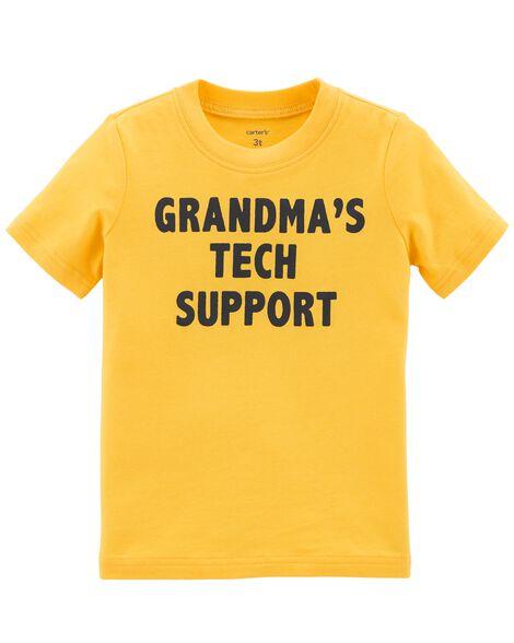 Grandma's Tech Support Jersey Tee