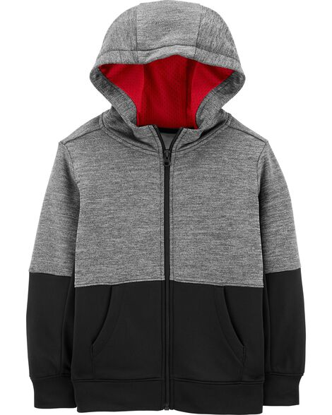 7beb864ed60c2 Colorblock Zip-Up French Terry Hoodie | Carters.com