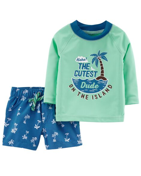 Carter's 2-Piece Rashguard Set