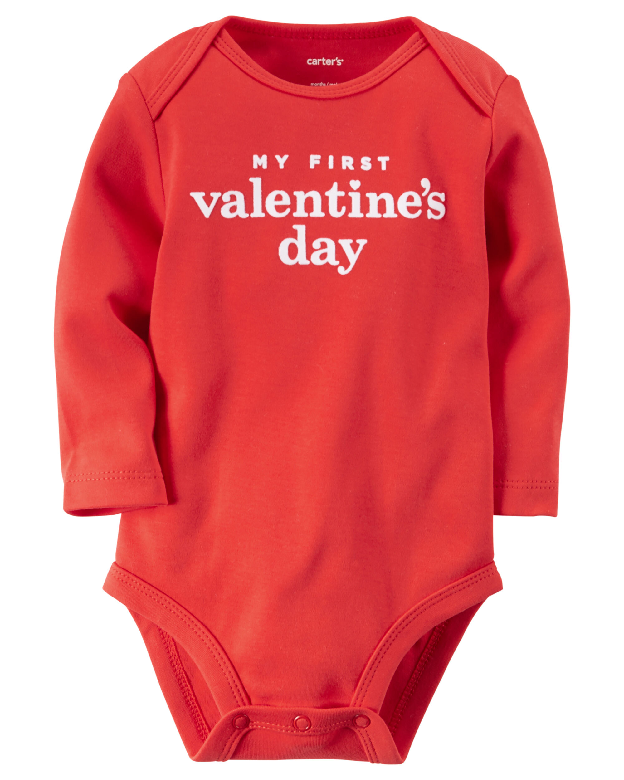 images my first valentines day bodysuit - First Valentines Day