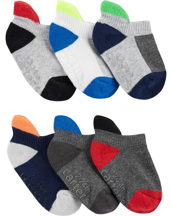 Unisex Newborn Baby Socks Boys Girls 3PK White Brown Grey Socks NB-3m 3-6m 6-12m