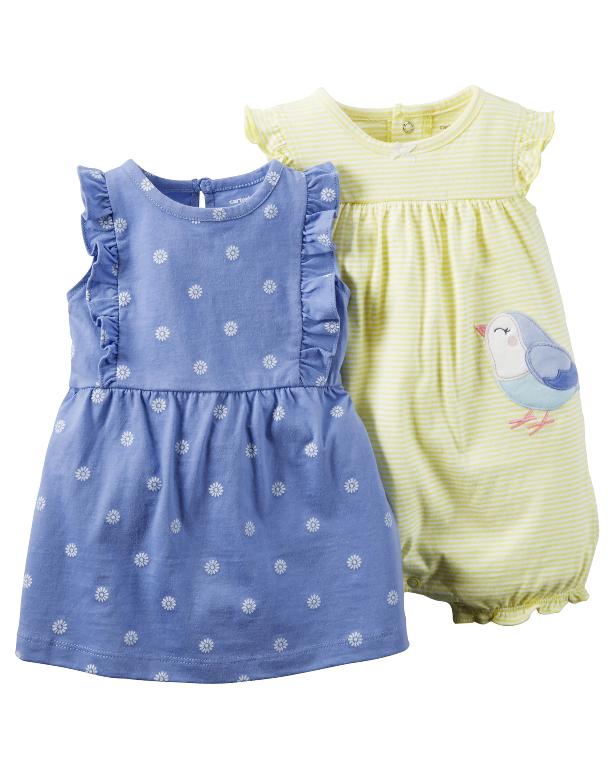 Carters Baby Girl Dress Set Newest and Cutest Baby Clothing