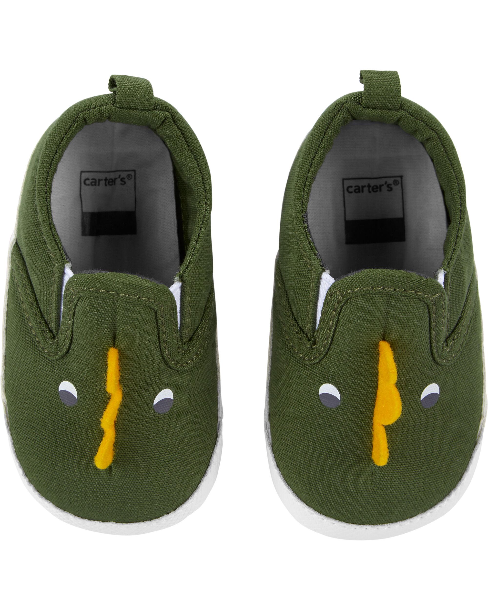 Dinosaur Sneaker Baby Shoes | carters