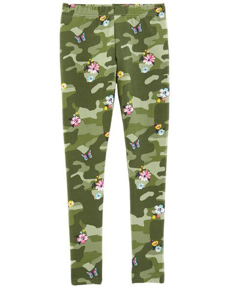 Floral Camo Leggings