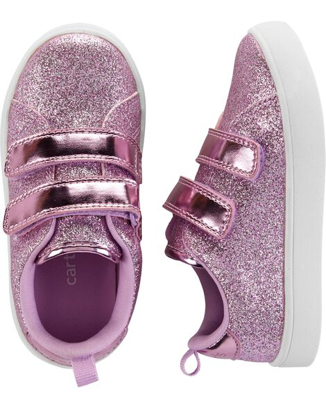 76877e1c931f Toddler Girl Carter s Glitter Casual Sneakers