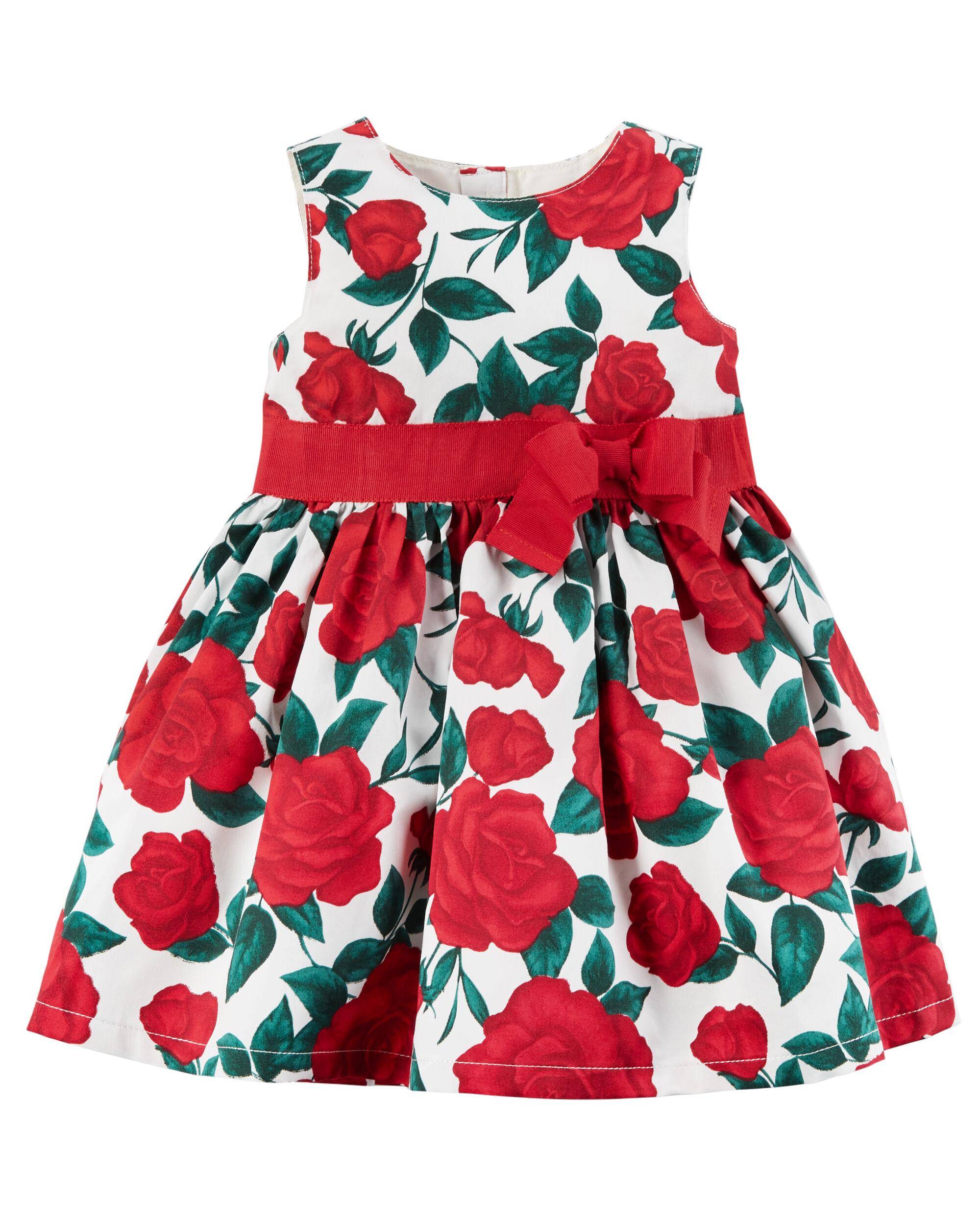 Rose Bow Dress ...  sc 1 st  Carteru0027s & Rose Bow Dress | Carters.com