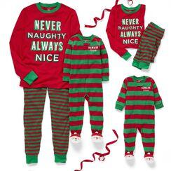 the nice list - Family Christmas Pjs