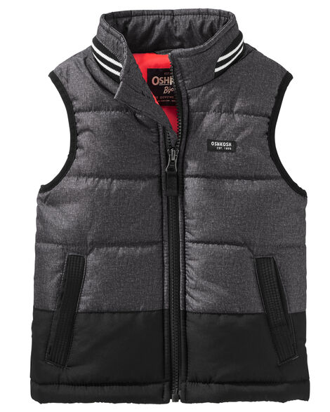 c07c7d362 Baby Boy Quilted Puffer Vest