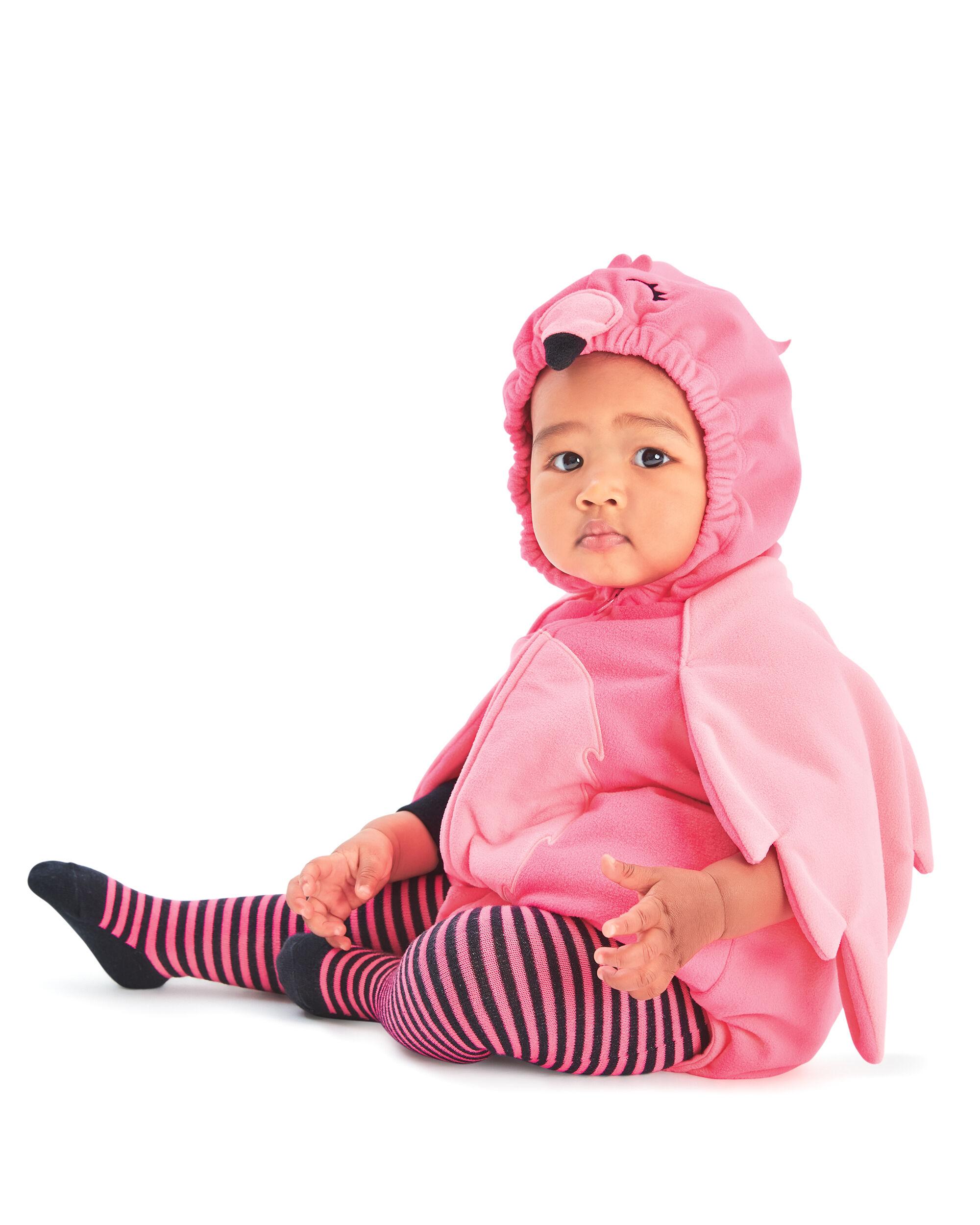 Little Flamingo Halloween Costume ...  sc 1 st  Carteru0027s & Little Flamingo Halloween Costume | Carters.com