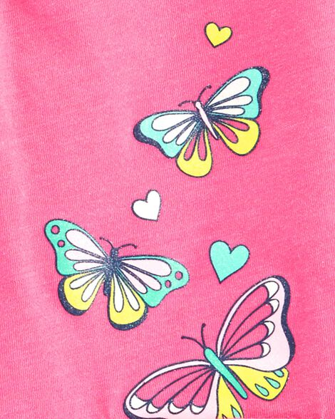 2-Piece Butterfly Top & Skort Set