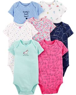 75538005a Baby Girl Bodysuits | Carter's | Free Shipping