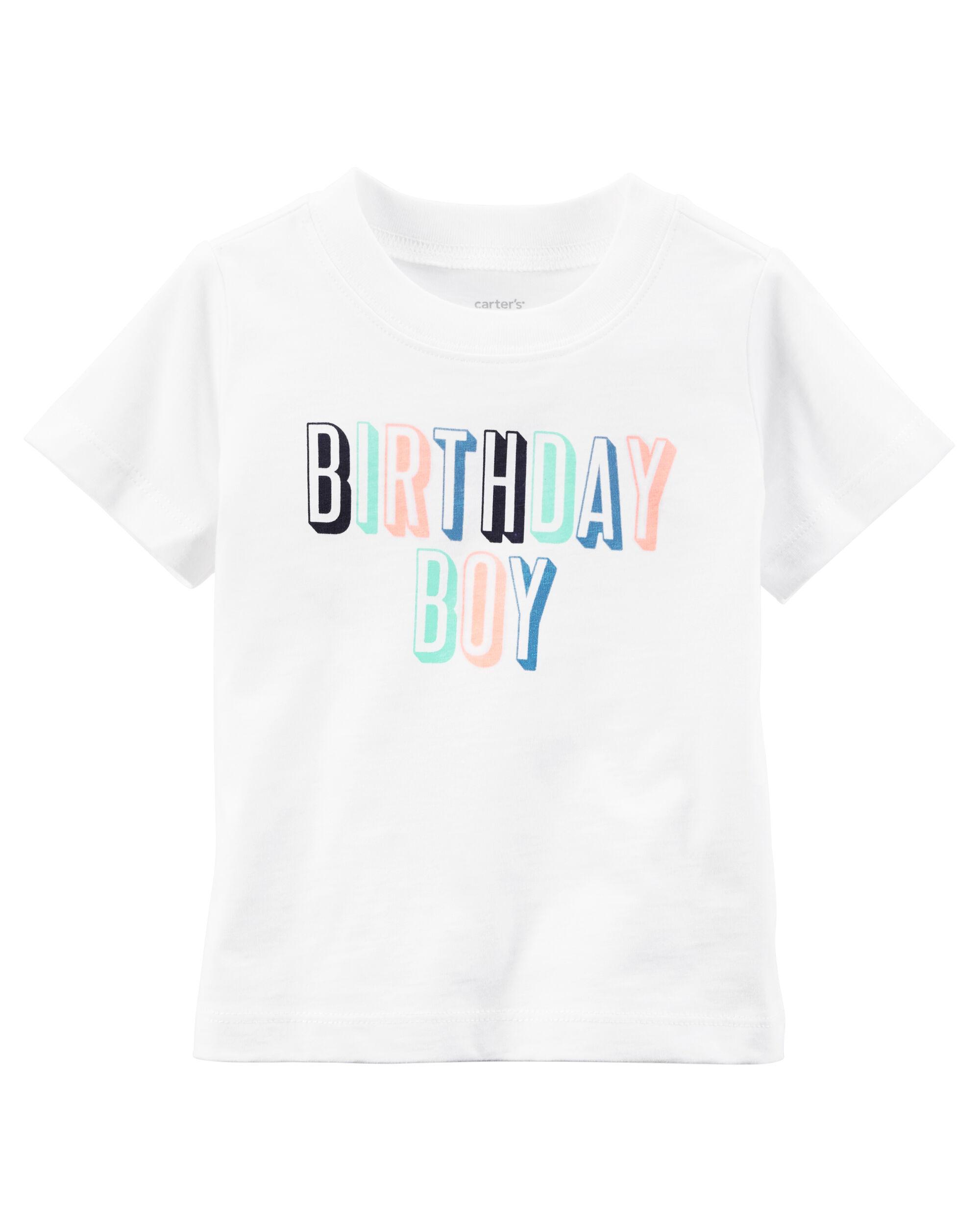 First Birthday Shirt Boy Carters