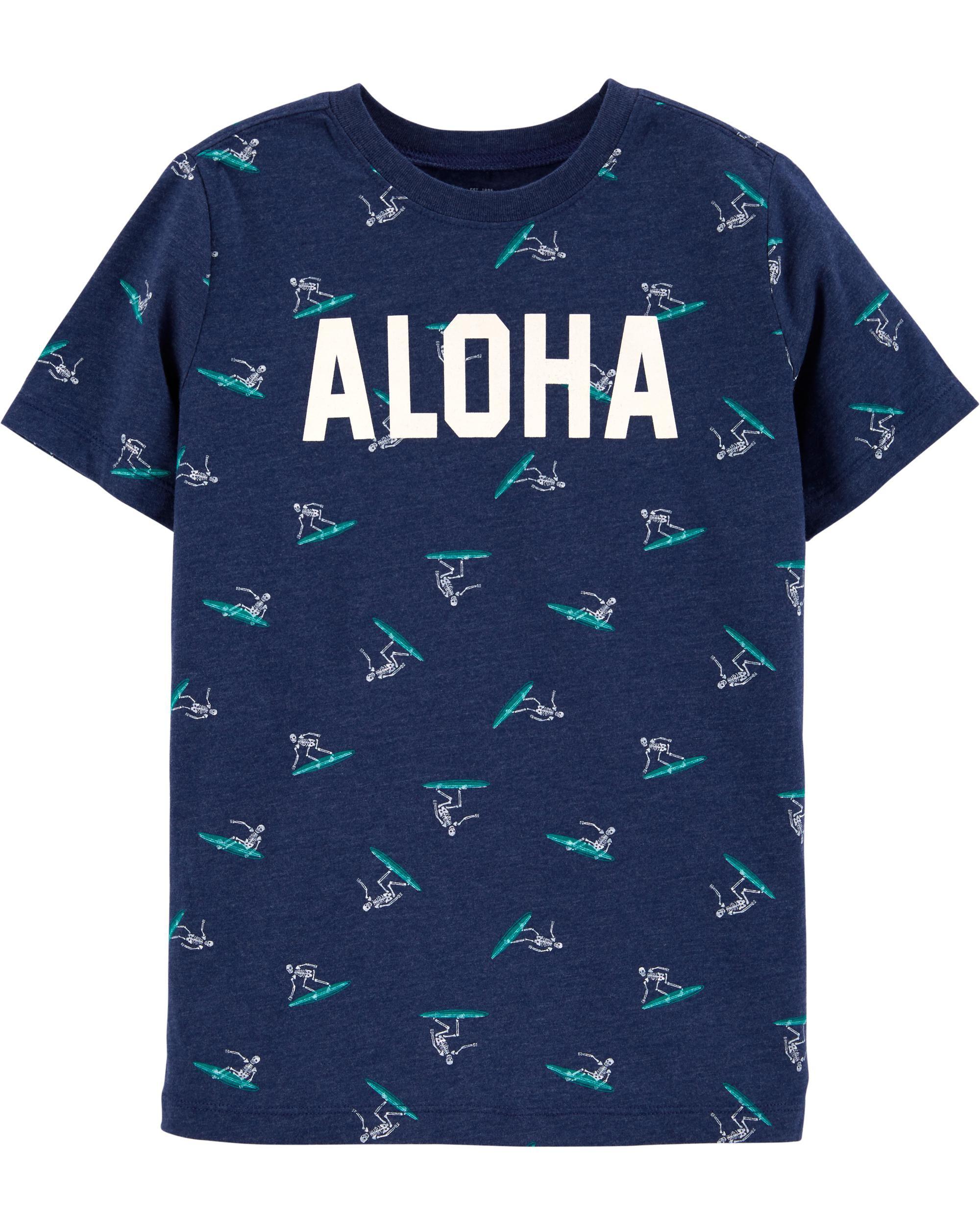 *CLEARANCE* Glow-in-the-Dark Aloha Tee