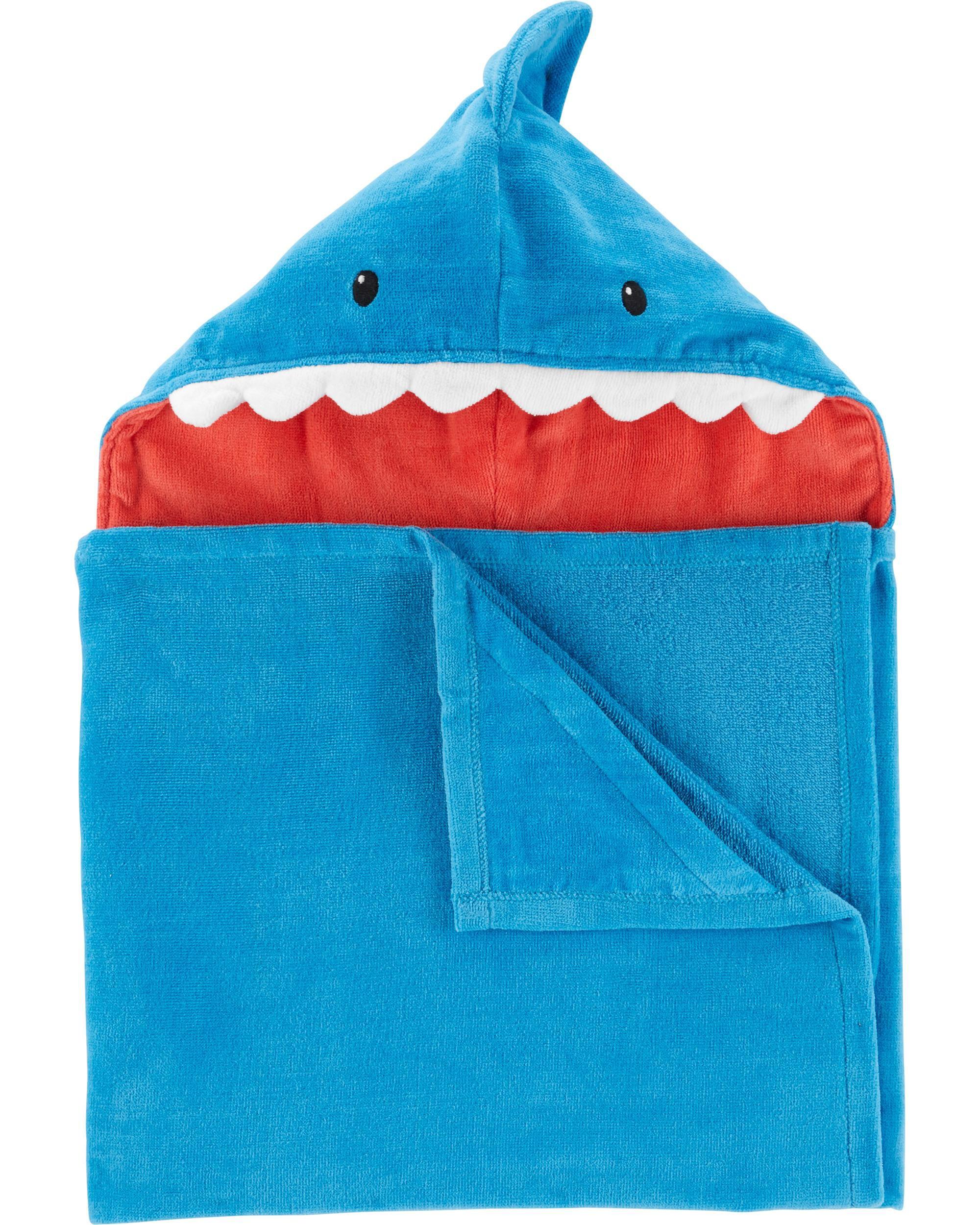 5d81d8f388c6 Shark Hooded Towel
