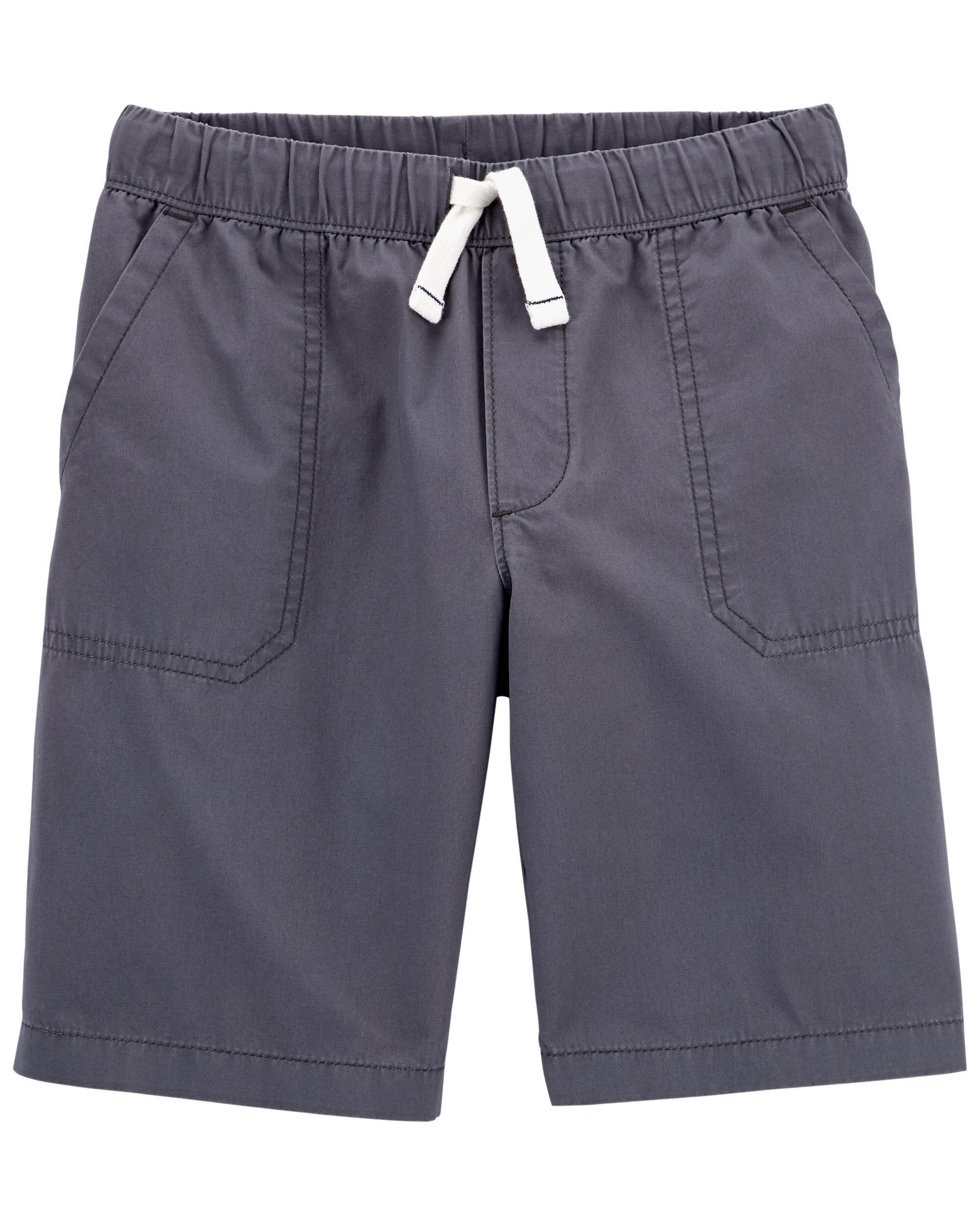 *DOORBUSTER* Easy Pull-On Poplin Shorts
