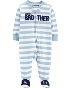 44afe30dbb8 Little Brother Zip-Up Cotton Sleep   Play