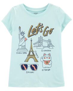 f0191735f Girls' Shirts & Tops (Sizes 4-14) | Carter's | Free Shipping