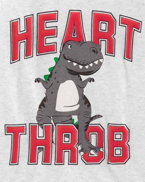 Heart Throb Dinosaur Jersey Tee