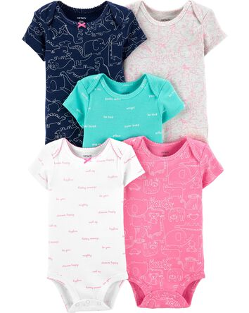 3c11371f51b80 Baby Girl Bodysuits | Carter's | Free Shipping