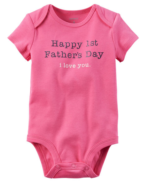 f51303fd1 First Father's Day Collectible Bodysuit | Carters.com