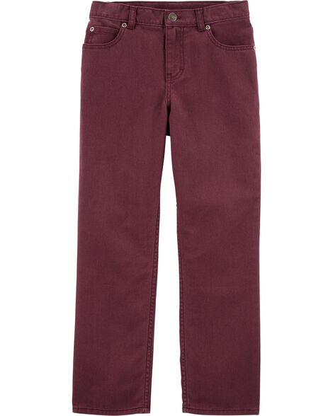 5-Pocket Twill Pants