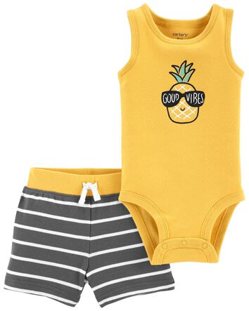 Details about  /Carter/'s Baby Boys 2 Pc  Bodysuit /& Shorts Set  NWT MVP or Team  6M or 9 Months