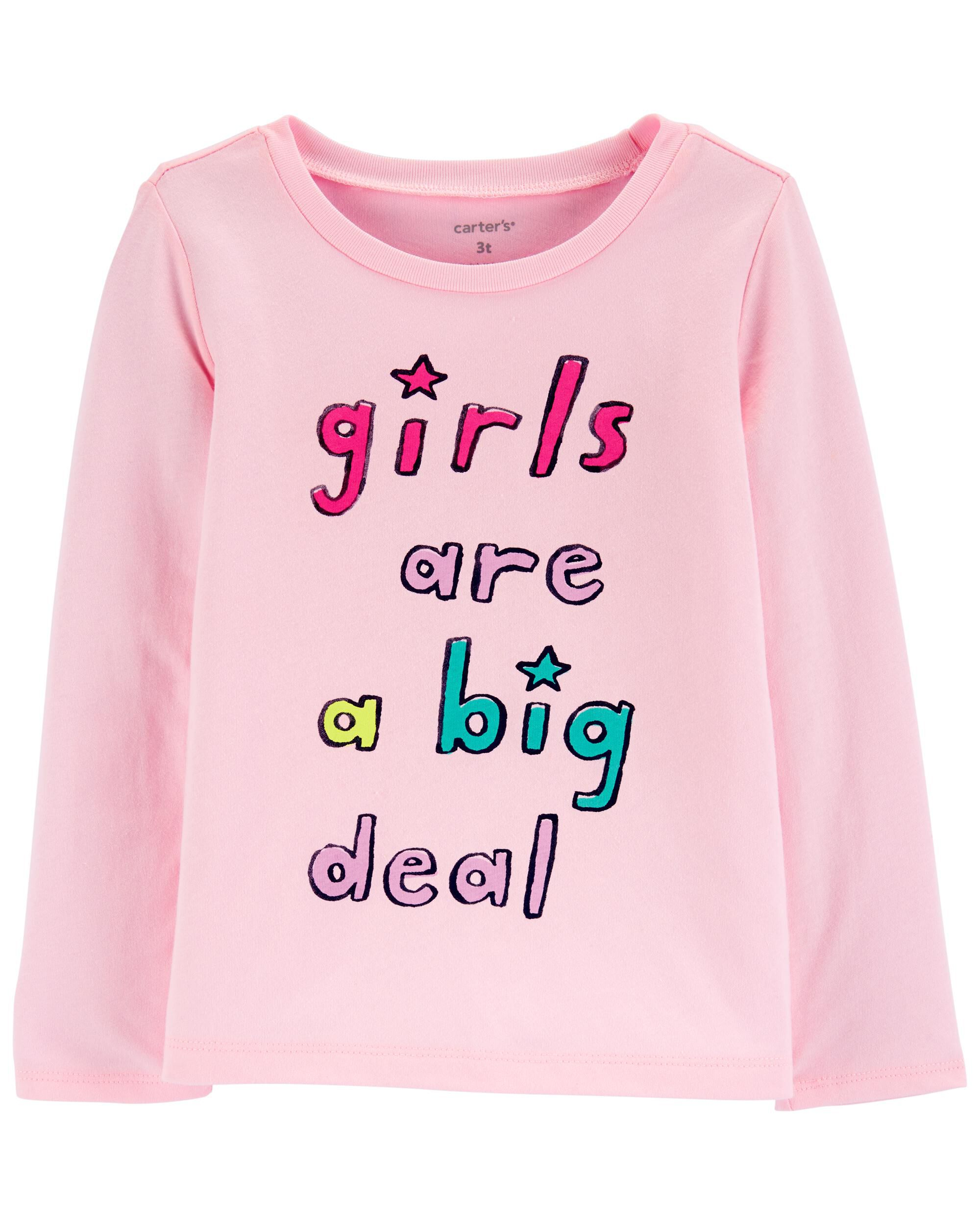 *CLEARANCE* Girls Are A Big Deal Jersey Tee