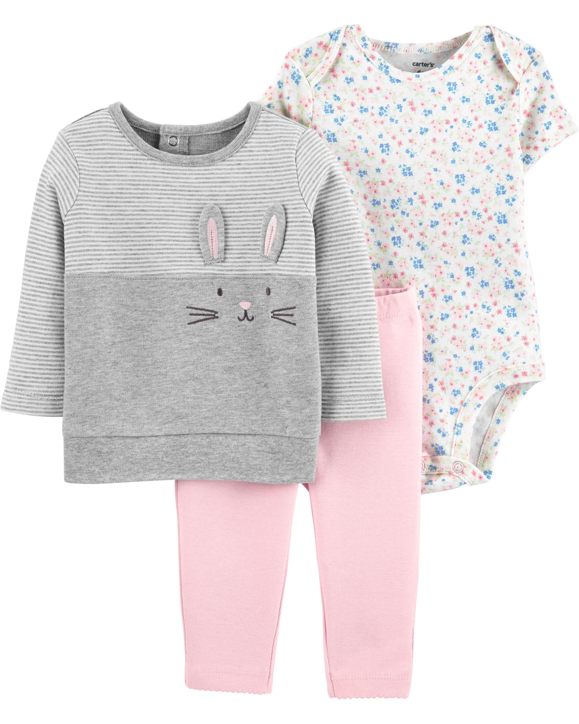 *DOORBUSTER* 3-Piece Bunny Set