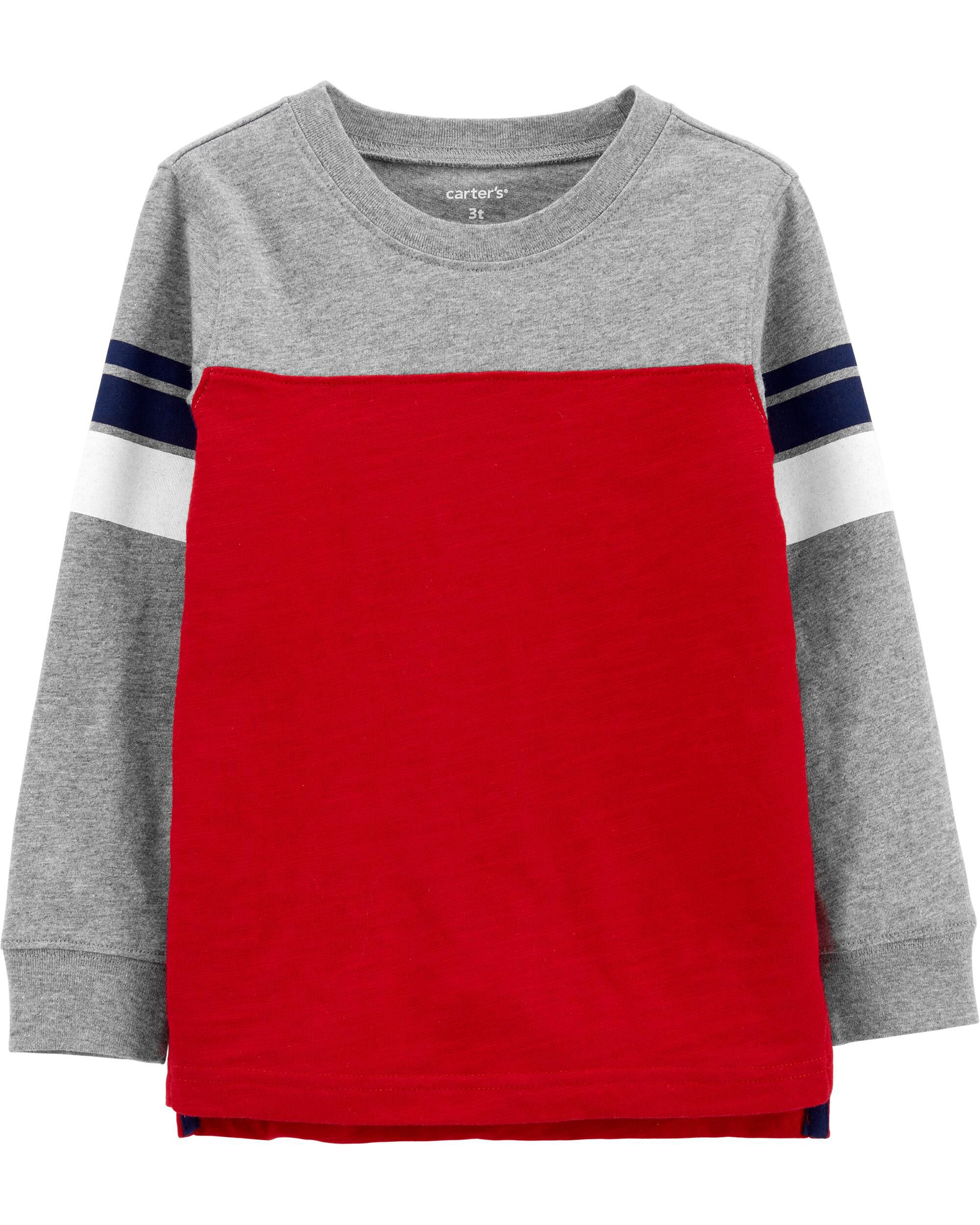 *CLEARANCE* Colorblock Jersey Tee