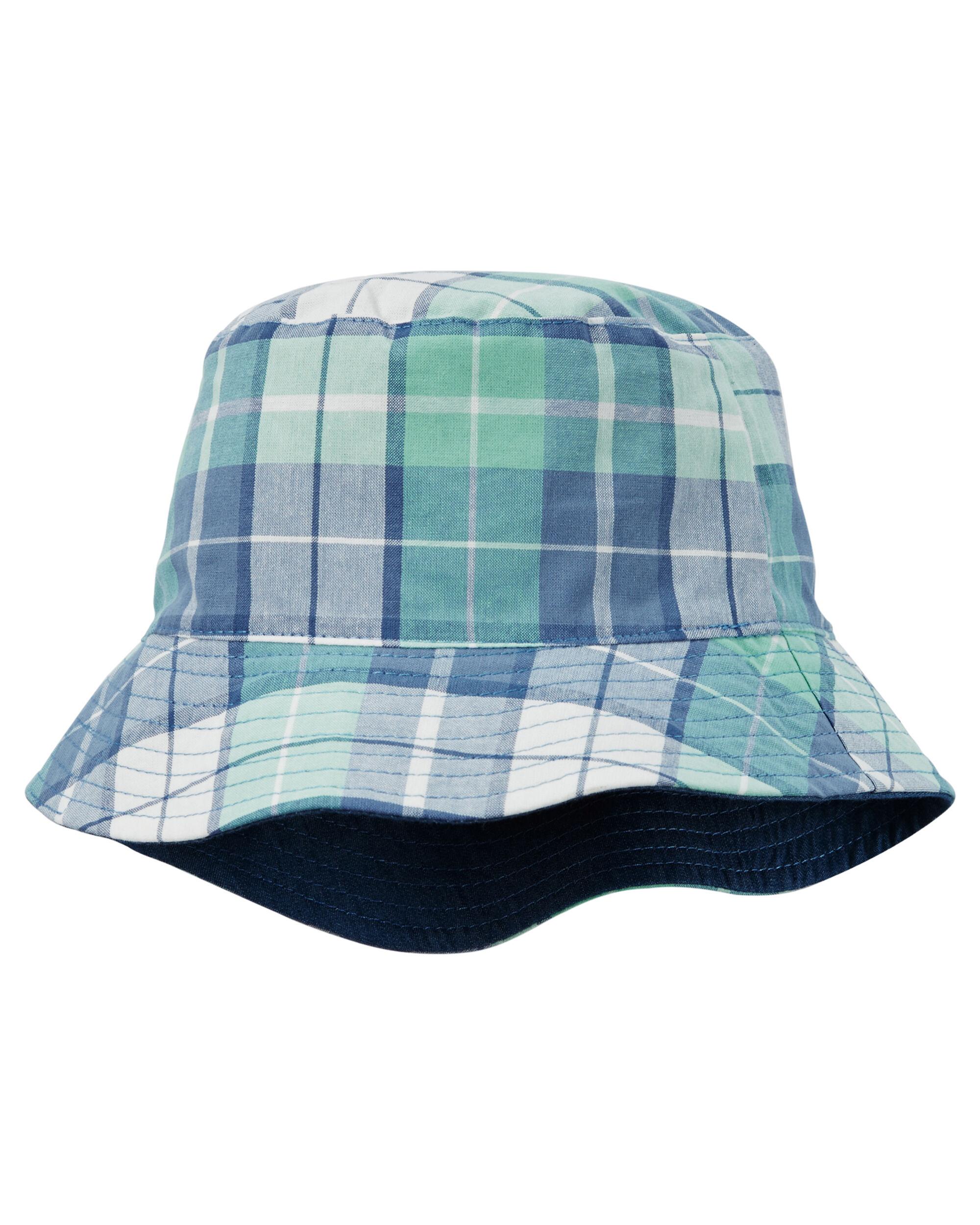 05f1d3c985e04 Reversible Chambray Bucket Hat · Reversible Chambray Bucket Hat
