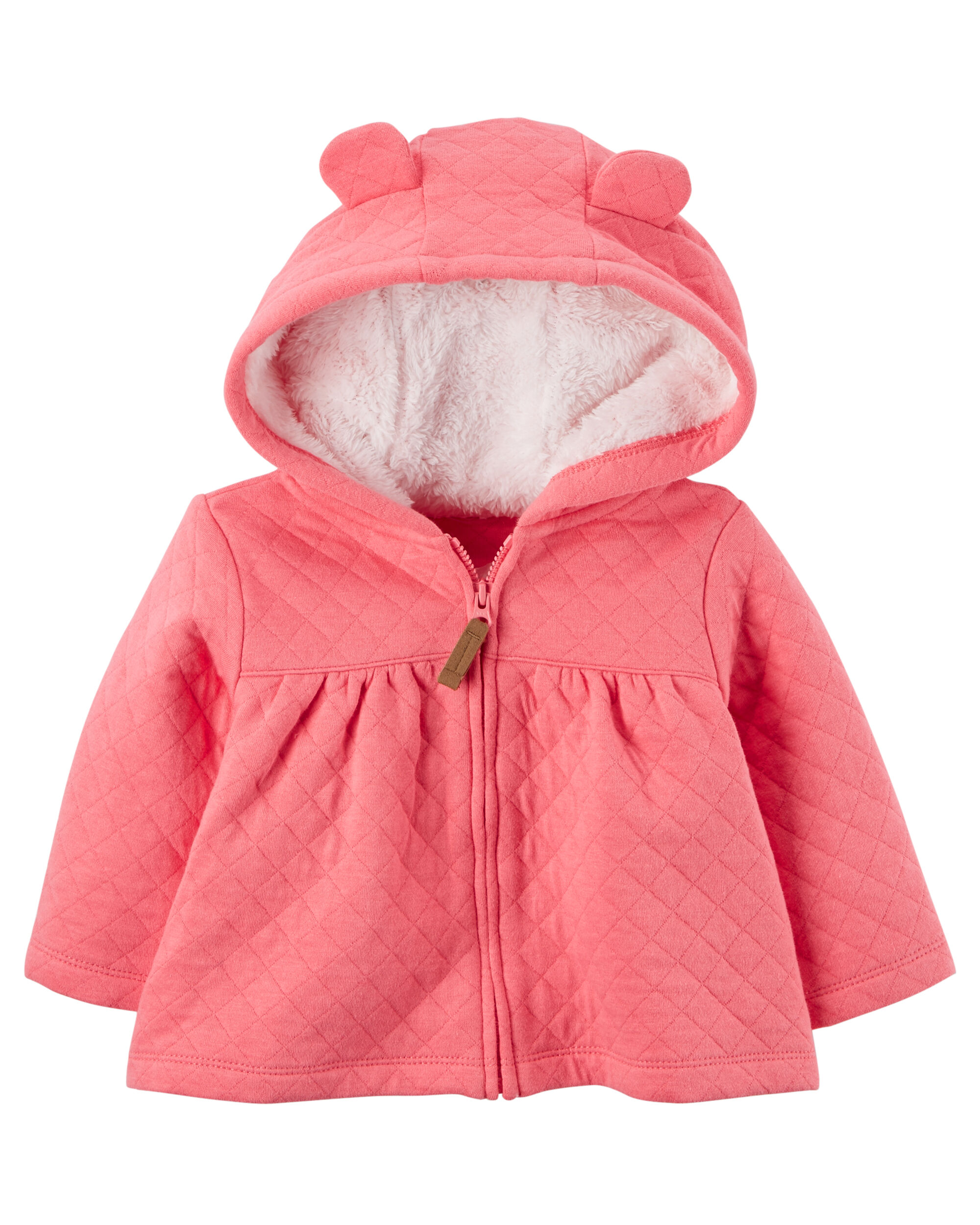 Sherpa Lined Quilted Jacket Carters Com