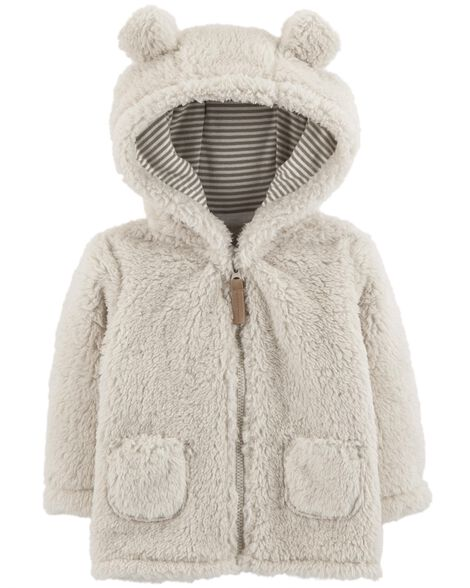 7c61c88f9 Zip-Up Sherpa Jacket