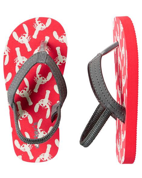 ced3628bf184 Carter s Lobster Flip Flops ...