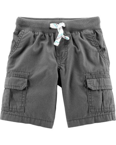 Pull-On Cargo Shorts