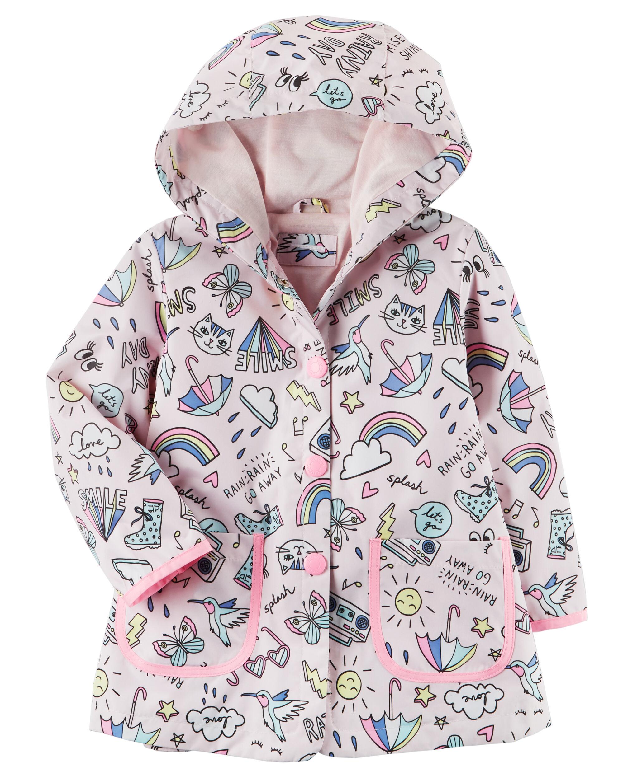 Toddler Girl Rain & Winter Coats, Jackets | Carter's | Free Shipping