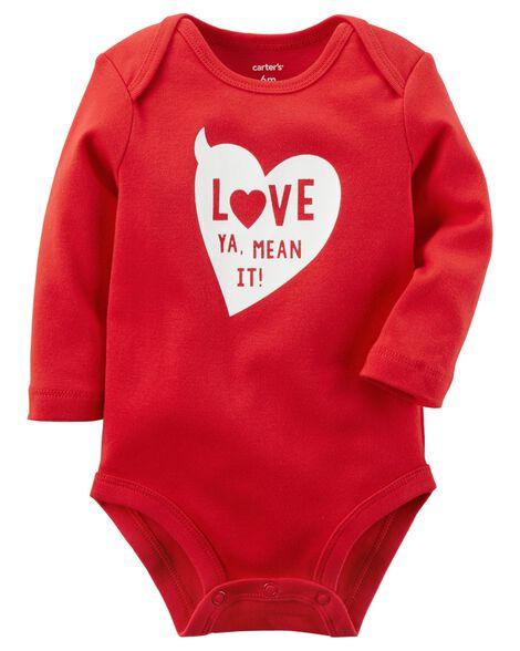 Valentine's Day Collectible Bodysuit