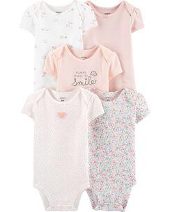 728ed84b Baby Girl Bodysuits | Carter's | Free Shipping