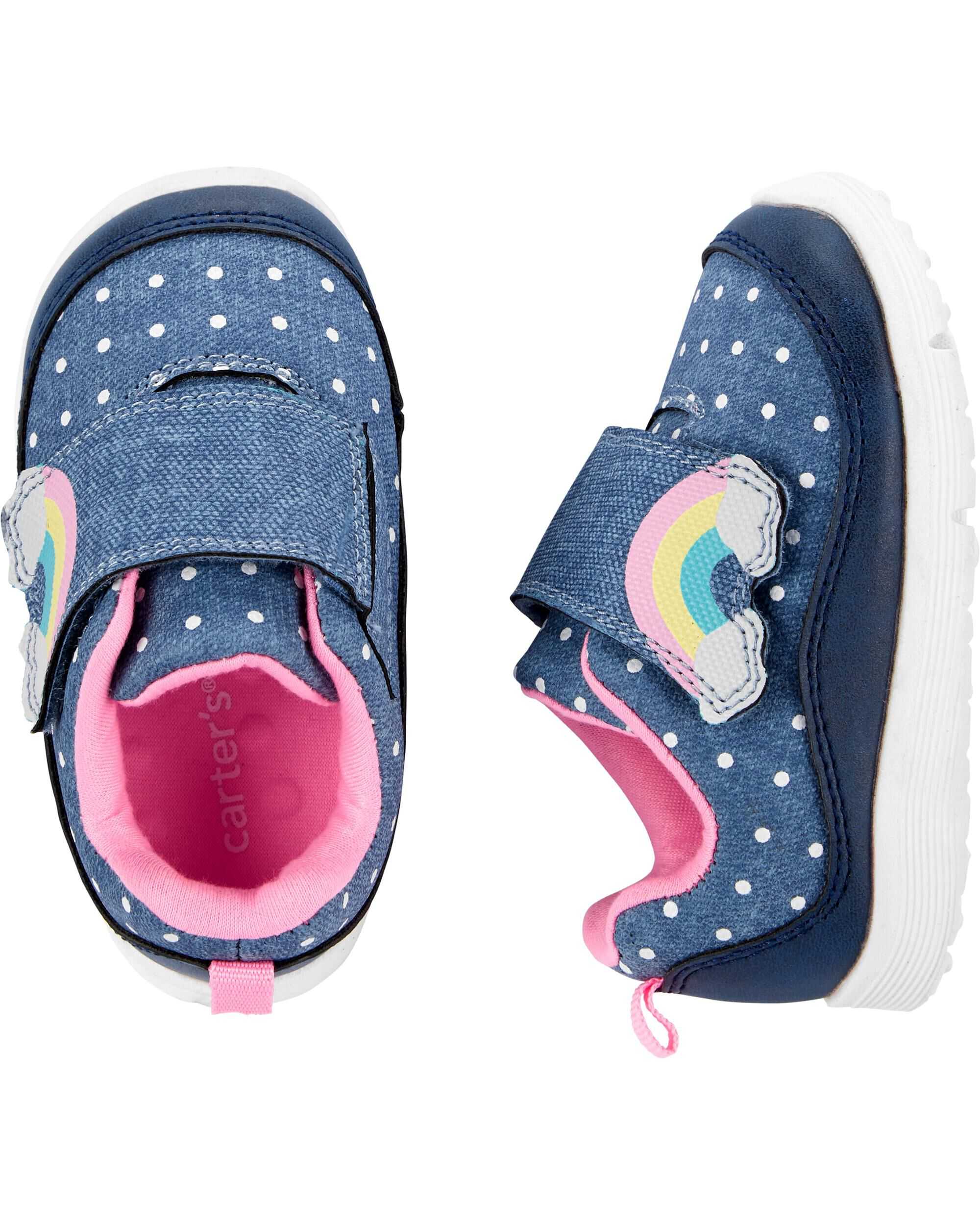 Carter's Rainbow Sneaker Baby Shoes