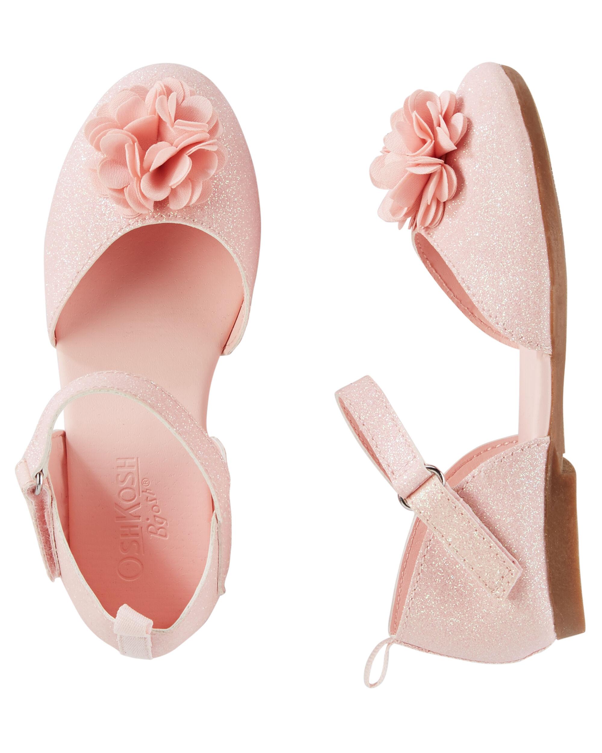 Kid Girl Oshkosh Flower Ballet Flats Oshkosh