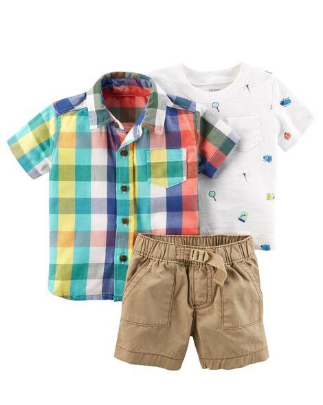 fa44dc5b6 3-Piece Outfit Set | Carters.com