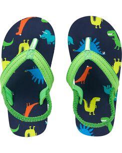 27d7cb686b7d Carter s Dinosaur Flip Flops