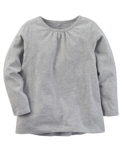 00eed375 Baby Girl Long Sleeve Tees | Carters.com