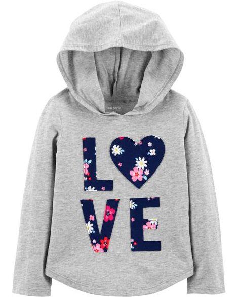 Love Pullover Lightweight Hoodie