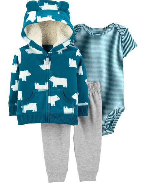 3-Piece Little Jacket Set