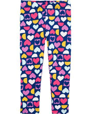 ZukoCert Girls 2-Pack Leggings Tights Kids Stretch Pants Printing Flower Pattern Leggings for Girls 3-11Y