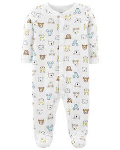 Baby Girl Sleep Play Pajamas Carter S