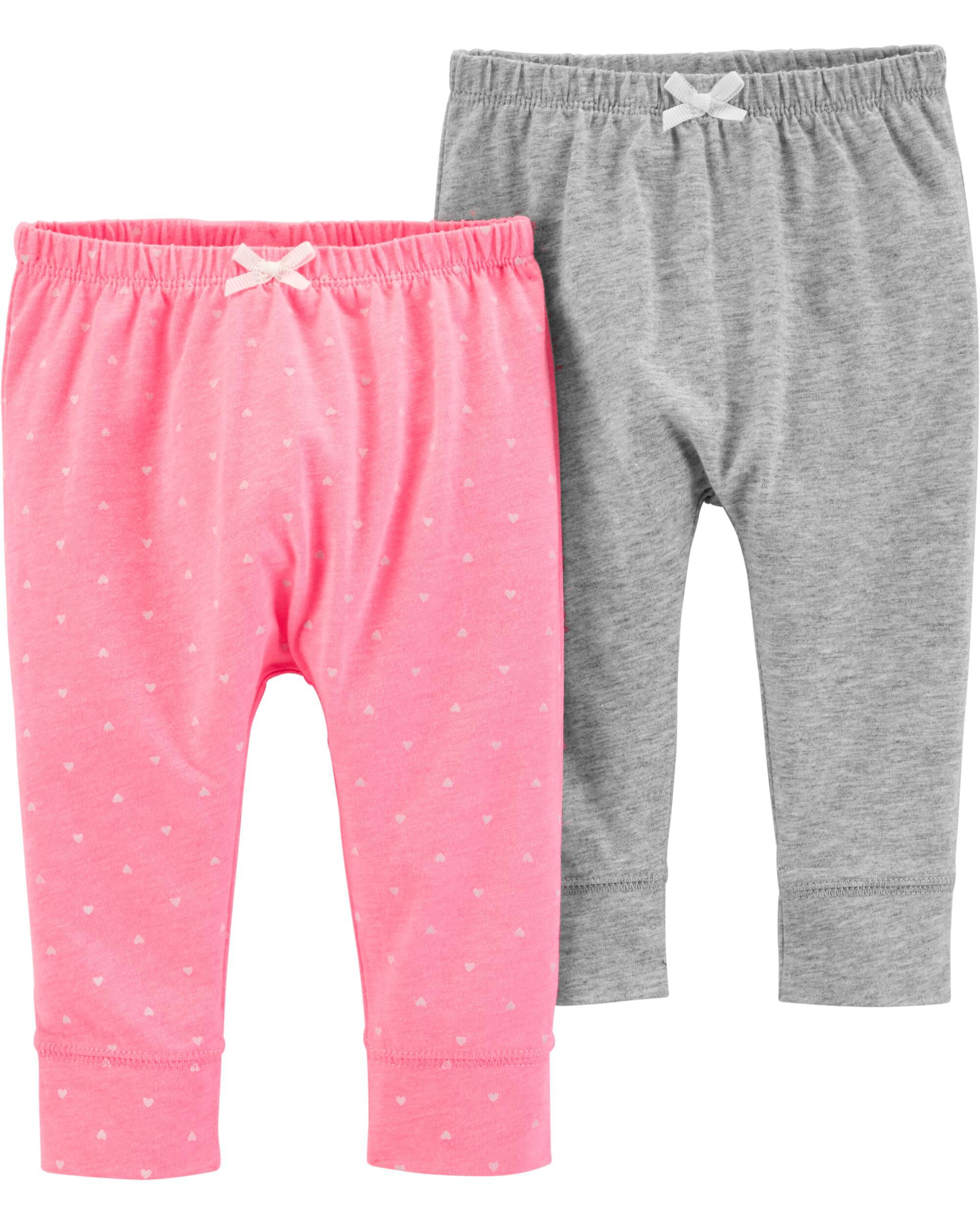 1c78c4acd Baby Girl 2-Pack Bubble Pants | Carters.com