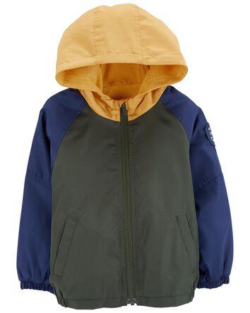 TLAENSON Toddler Boys Camo Windbreaker Jacket Kids Hooded Waterproof Wind Jackets