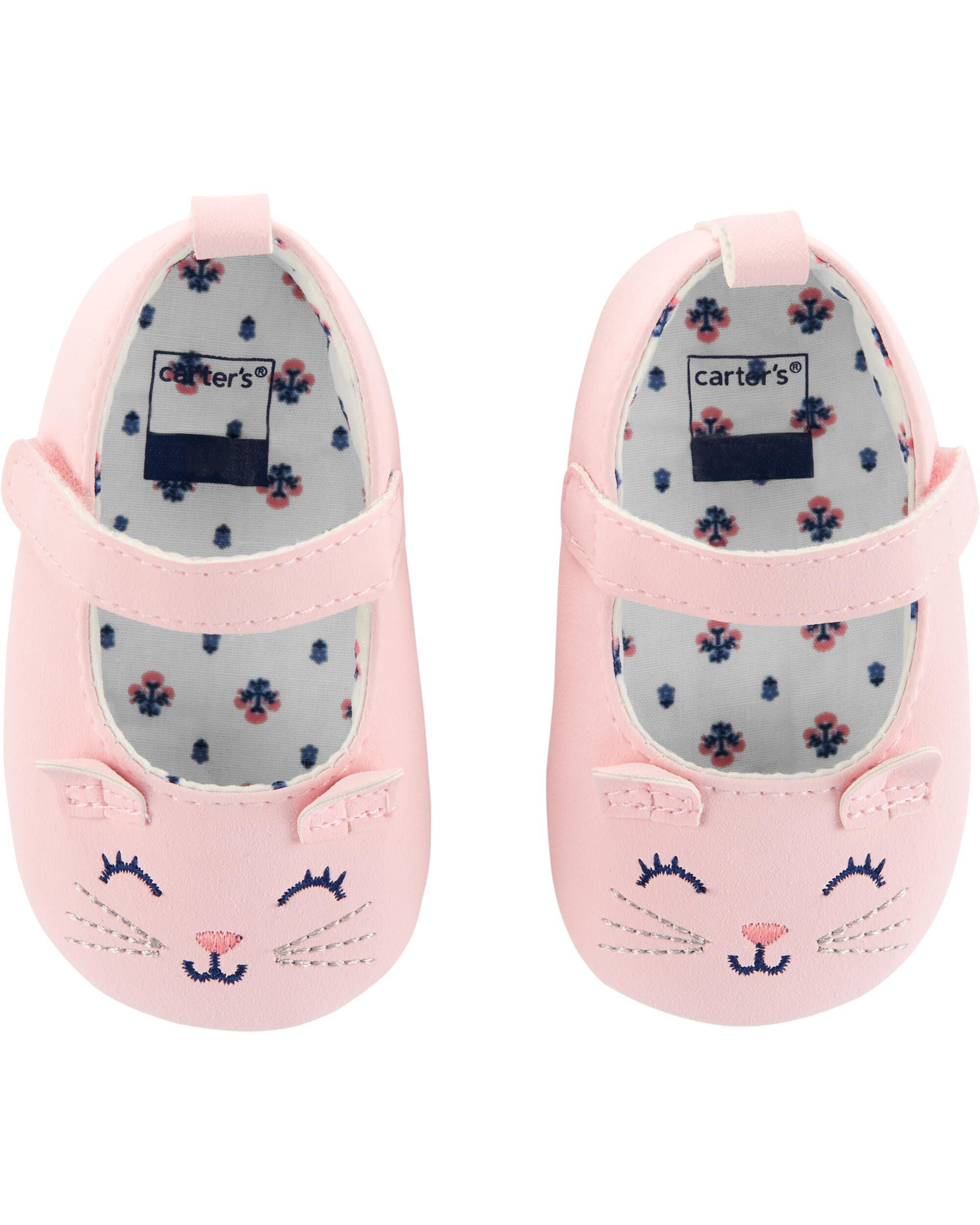 Cat Mary Jane Baby Shoes | carters