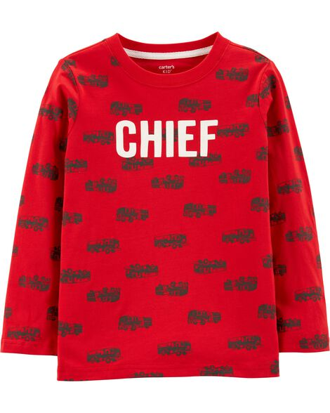 Chief Firetruck Jersey Tee